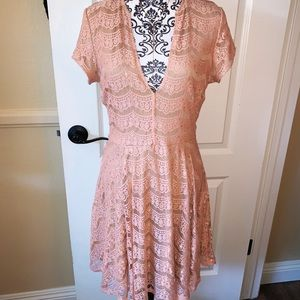 GB Lace Cocktail Dress